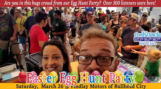 Easter Egg Hunt Party - The Knack and Findlay Motors