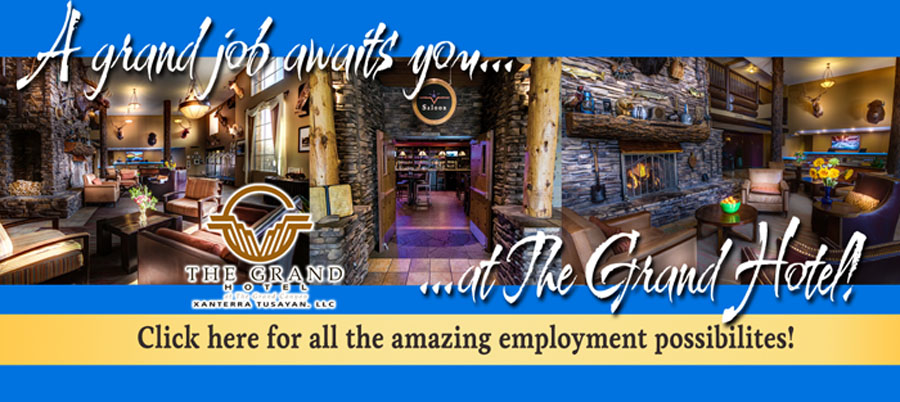 Employment Opportunities @ The Grand Hotel