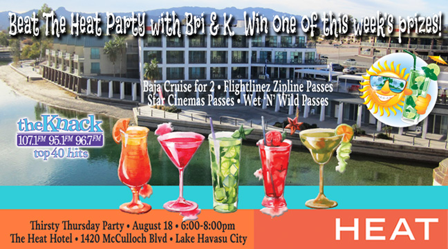Thirsty Thursday Party at The Heat Hotel!