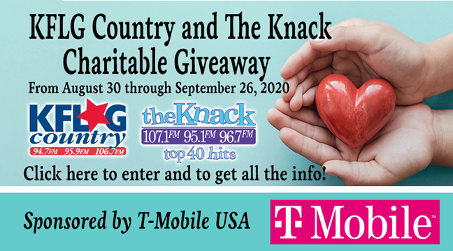 KFLG Country and The Knack Charitable Giveaway