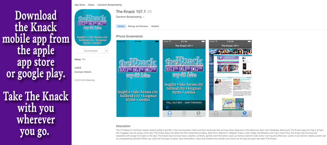 Download The Knack mobile app!