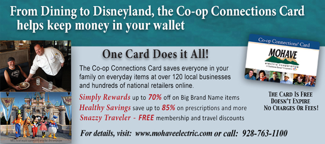 Mohave Electric Co-op Connections Card